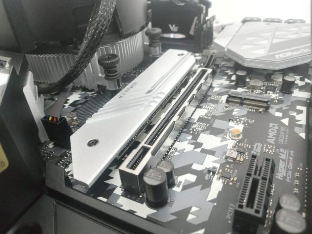 disipador de disco duro M.2