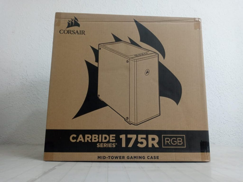 carcasa en caja